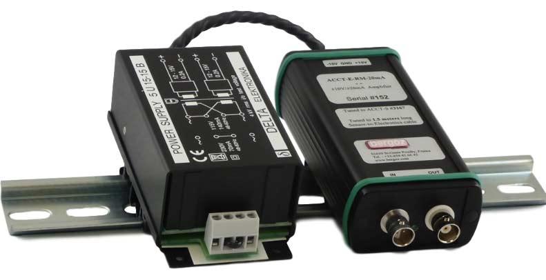 ACCT electronics with single range